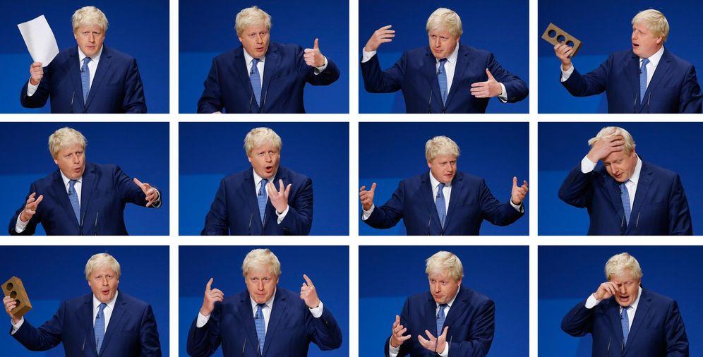 Foto: Montaje con fotos del alcalde de Londres, Boris Johnson (Reuters)