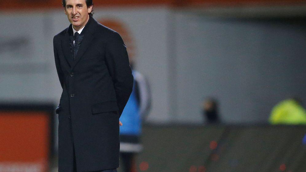 Foto: La continuidad de Unai Emery en el PSG está en el aire. (Reuters)