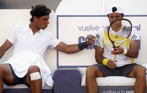 Nadal levanta el primer título del año en Doha junto a Juan Mónaco
