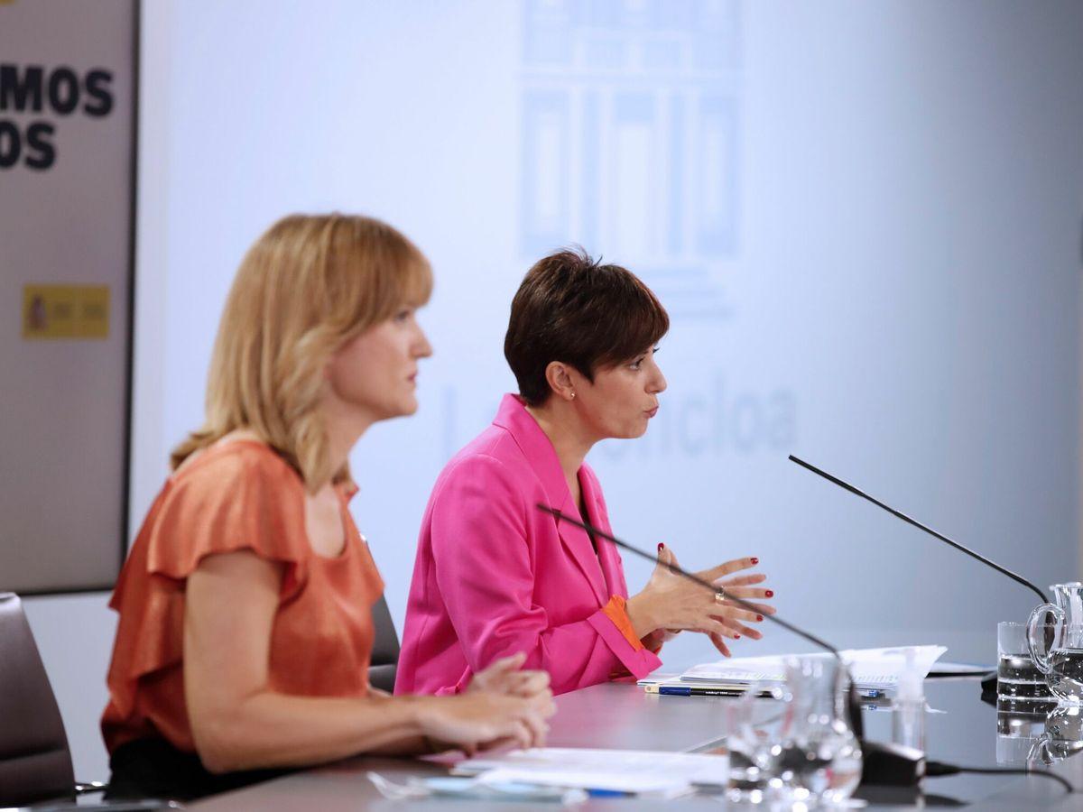 Foto: Rueda de prensa posterior al Consejo de Ministros.