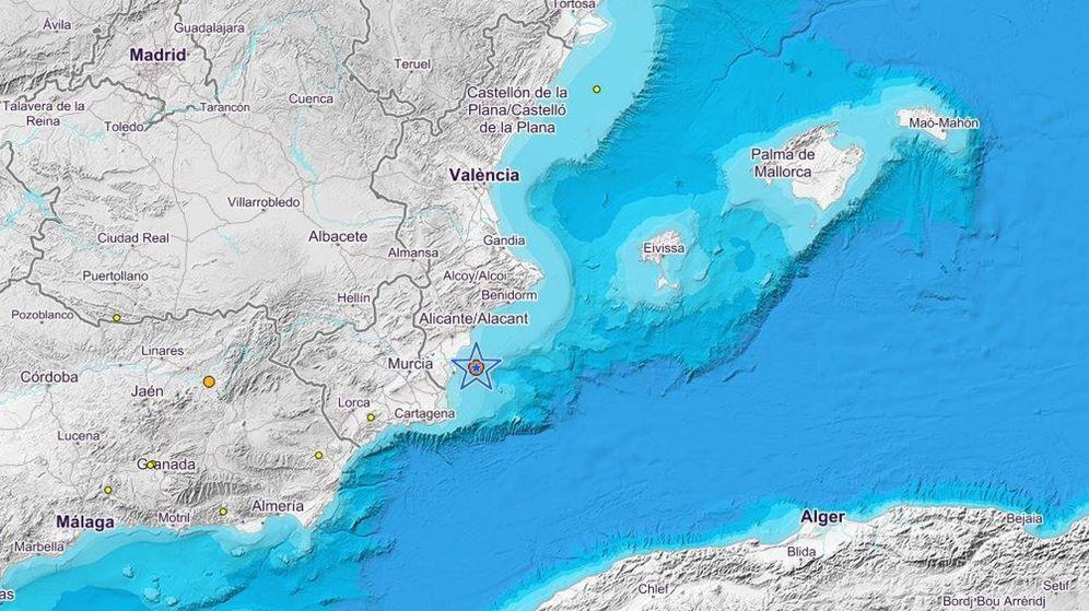 Foto: Un terremoto de 4 grados se siente en distintos municipios de Alicante. (EFE)