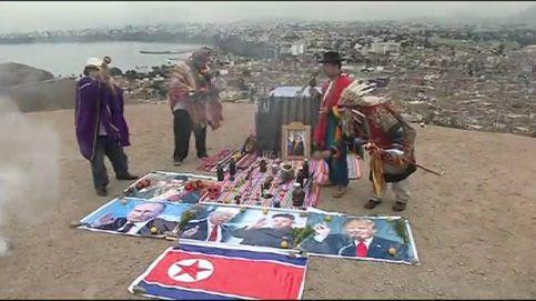 'Hechizan' a Trump, Kim Jong-Un y Maduro para lograr la paz mundial