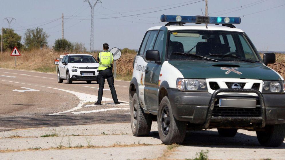 Foto: Confinamiento perimetral de Ejea de los Caballeros. (EFE)