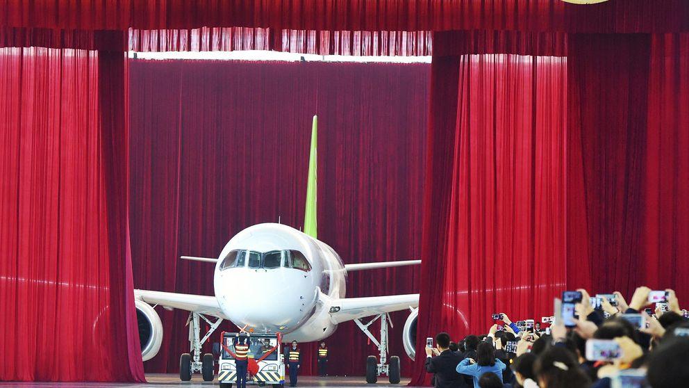 Así es el C919, el primer avión comercial de larga distancia fabricado en China