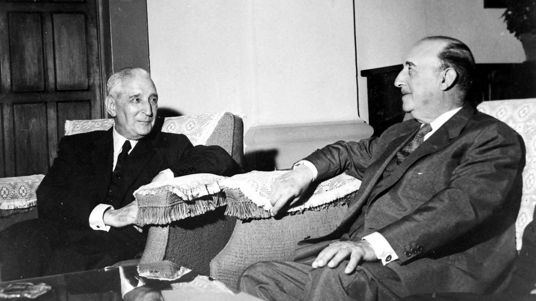 Salazar y Franco. Si él supiese... (Cordon Press)