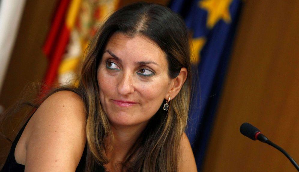 Foto: La abogada Sara Giménez, número 3 por la lista de Madrid de Ciudadanos al Congreso. (EFE)