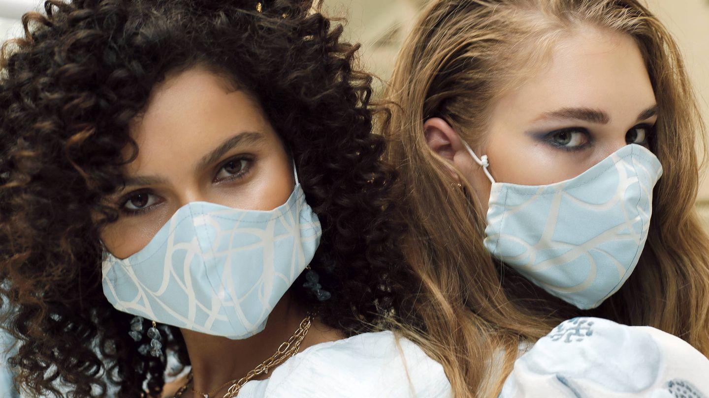 Los maquillajes a prueba de mascarillas también han llegado a las pasarelas. (Imaxtree)