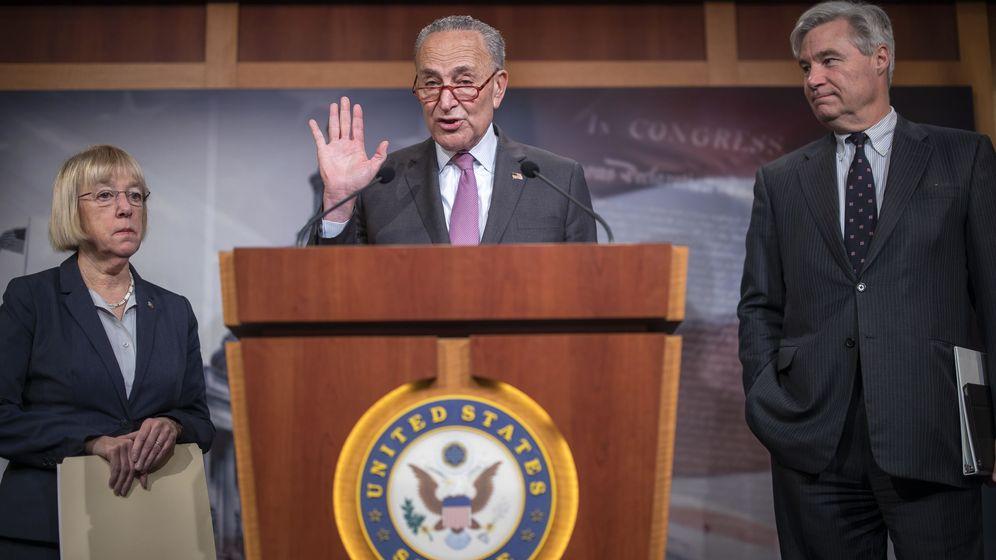 Foto: Chuck Schumer, líder de los Demócratas en el Senado. (EFE)