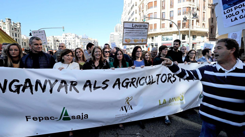 La manifestación en Valencia. (EFE)