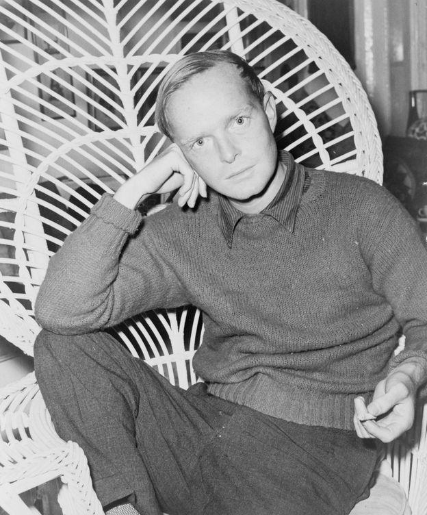 Foto: Truman Capote, en su juventud.
