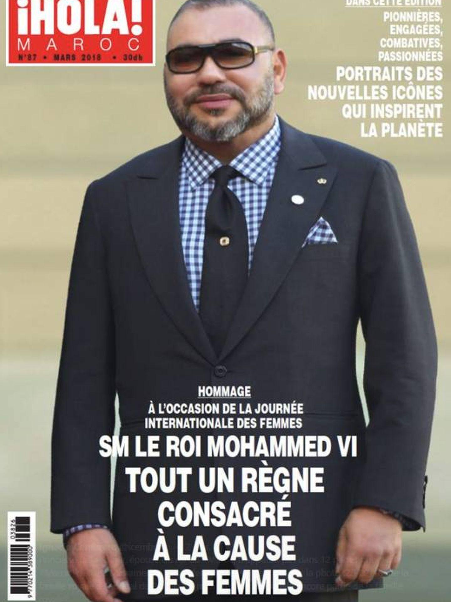 Mohamed VI en la portada de 'Hola' Marruecos.
