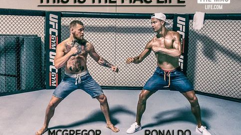 McGregor vacila a Cristiano Ronaldo por su sueldo y lanza una piedra a Mayweather