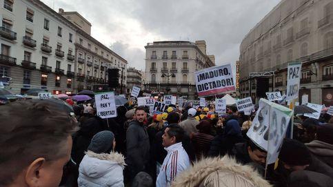 Miles de personas se concentran en Sol a favor de Guaidó: Venezuela libertad