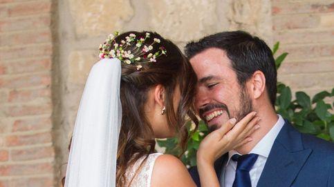 La criticada boda de Alberto Garzón y Anna Ruiz, foto a foto