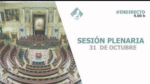Siga en directo la sesión de control al Gobierno