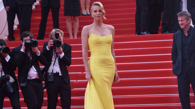 Charlize Theron, en el Festival de Cannes de 2015. (Cordon Press)