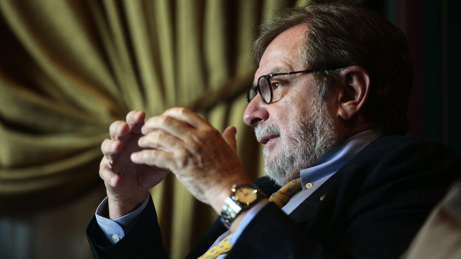 Foto: El presidente del grupo Prisa, Juan Luis Cebrián (EFE).