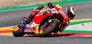 Post de MotoGP en directo: primer 'match-ball' de la temporada para Marc Márquez