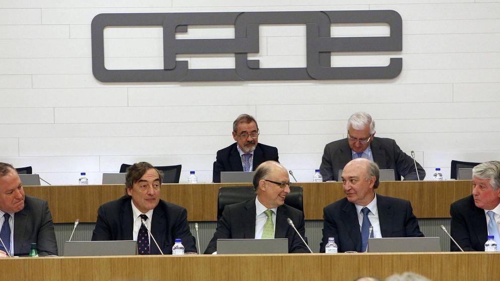Rosell lanzará a las empresas a la guerra sin cuartel contra el decreto de Montoro
