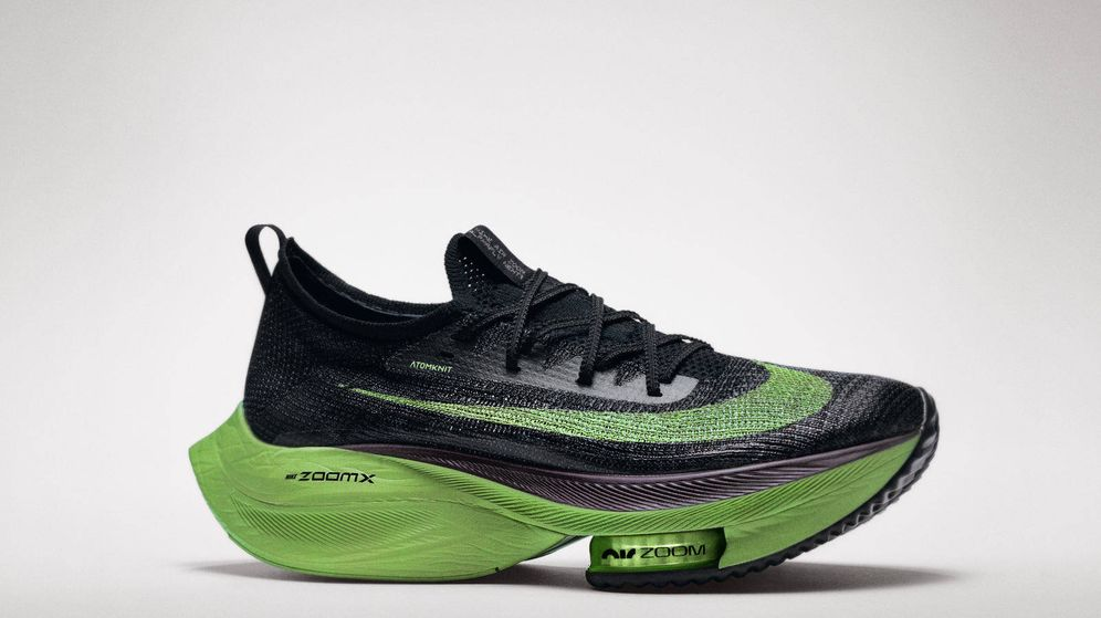 Foto: Las nuevas Alphafly Next% de Nike. (Nike)