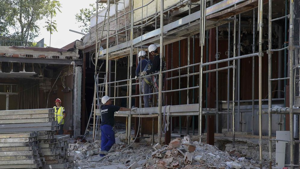 en madird hay a da de hoy al menos edificios con importantes daos daos que de no subsanarse podran acabar provocando su derrumbe