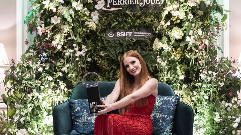 Con Jessica Chastain y desde dentro: 'Vanitatis' vive el fin de fiesta del Festival de San Sebastián