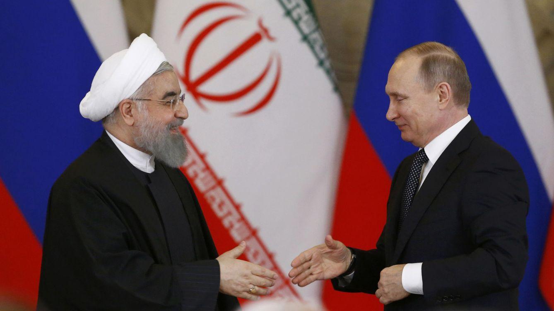 Rusia e Irán refuerzan su alianza en Oriente Medio frente a las presiones de EEUU