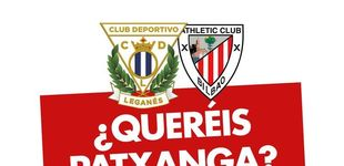 Post de El Leganés reta al Athletic: