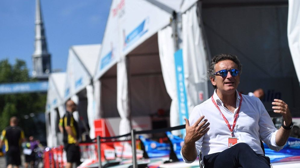 Foto: Alejandro Agaj, CEO y fundador de la Fórmula E. (Foto Twitter de @FIAFormulaE)