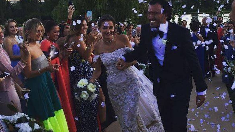Las imágenes de la boda de Gabriela Palatchi y Ediz Elhadef