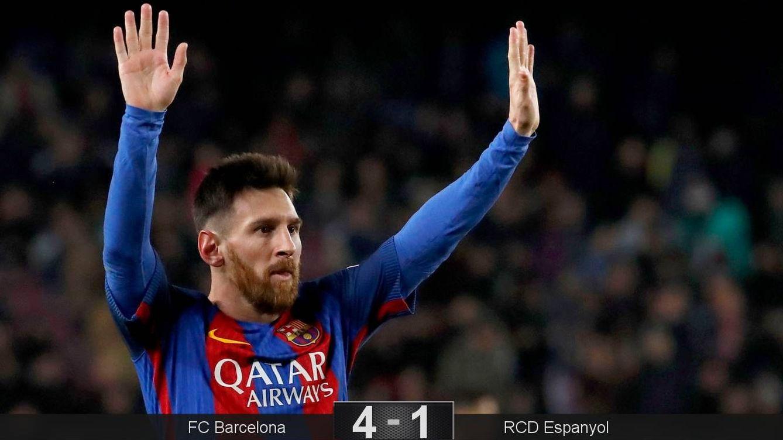 El fútbol a veces es muy simple: no se debe cabrear a Messi