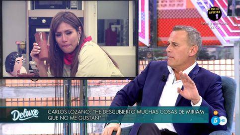 La grave insinuación de Carlos Lozano sobre la doble vida de Miriam Saavedra