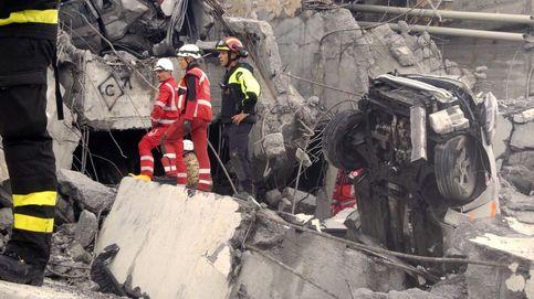 Un nuevo vídeo muestra el momento en el que se derrumba el puente de Génova