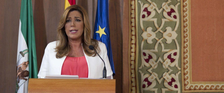 La presidenta de la Junta, Susana Díaz. (EFE)