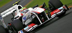 Sauber ha sido descalaficada del GP de Australia por irregularidades en su alerón trasero