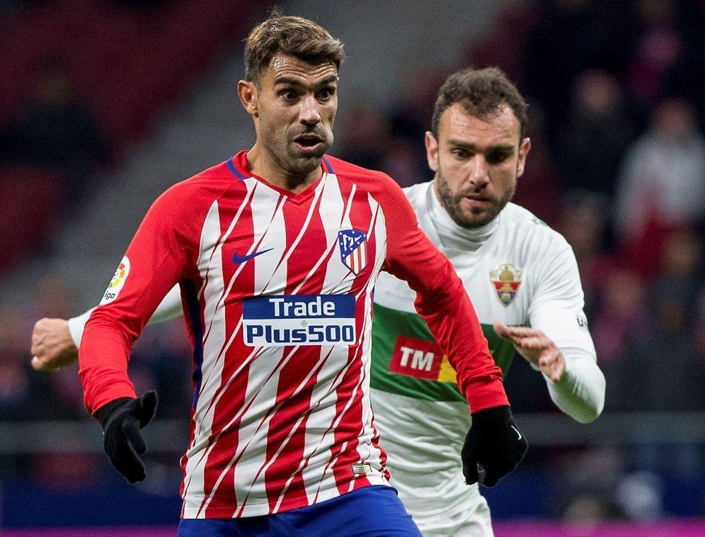 Foto: Augusto Fernández no ha conseguido triunfar en el Atlético de Madrid. (EFE)
