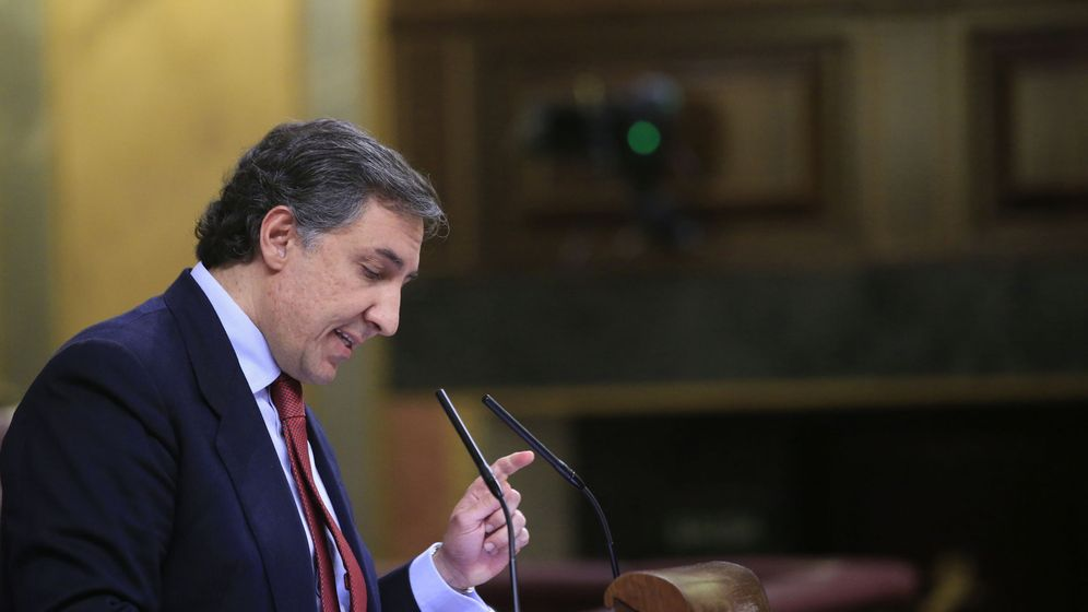 Foto:  El portavoz del PP en la Comisión de Exteriores, José Ramón García Hernández. (EFE)