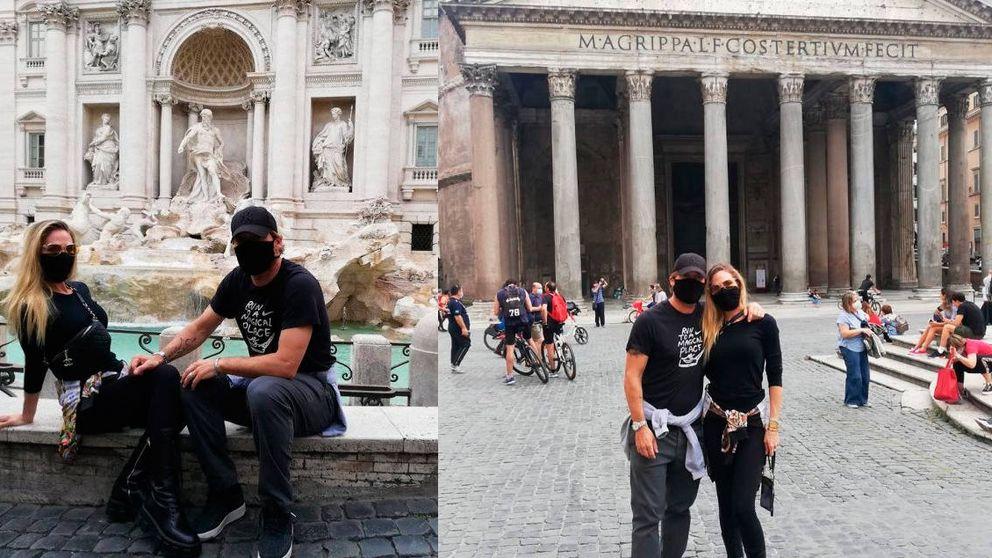 Francesco Totti consigue hacer turismo por Roma durante la pandemia del coronavirus