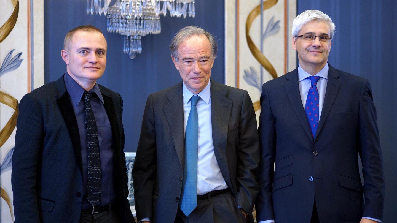 Los responsables del Teatro Real Joan Matabosch, Gregorio Marañón e Ignacio García-Belenguer (Javier del Real)