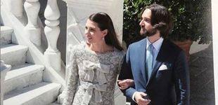 Post de Carlota Casiraghi y Dimitri Rassam torpedean las fotos no oficiales de su boda