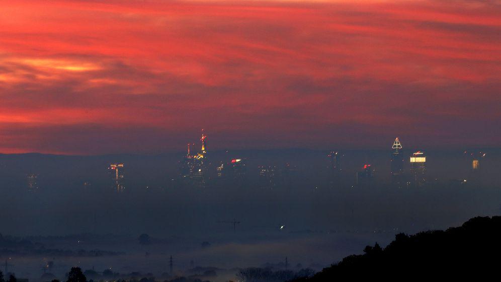 Foto: The skyline of Fránkfurt, corazón financiero de Alemania. (Reuters)