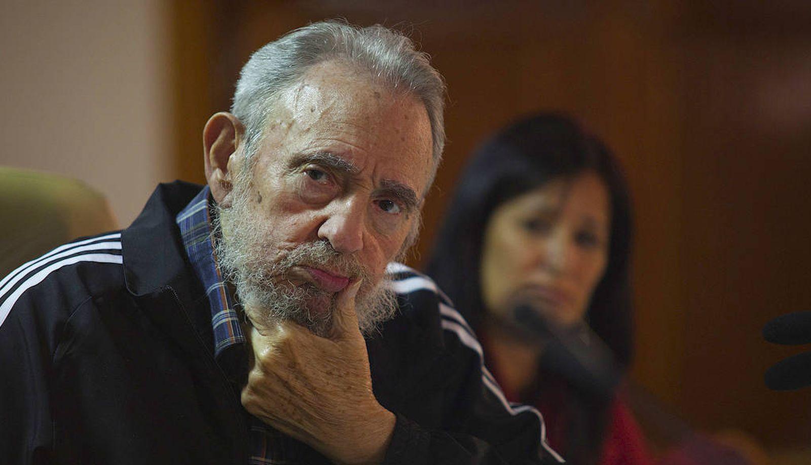 Foto: Fidel Castro durante la presentación de su biografía en La Habana, el 3 de febrero de 2012 (Reuters).