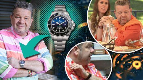 Alberto Chicote y sus relojes de más de 10.000 euros: así es su exclusiva colección