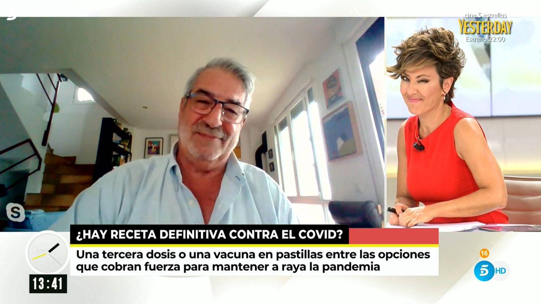 Sonsoles Ónega, en 'Ya es mediodía'. (Telecinco)