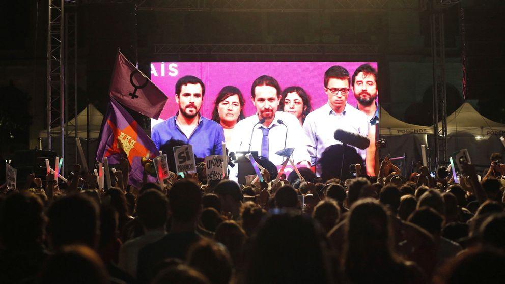El sondeo de Podemos a sus bases sobre la causa del fracaso: Venezuela, IU...