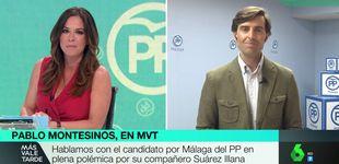Post de Tensión entre Mamen Mendizábal y Pablo Montesinos: