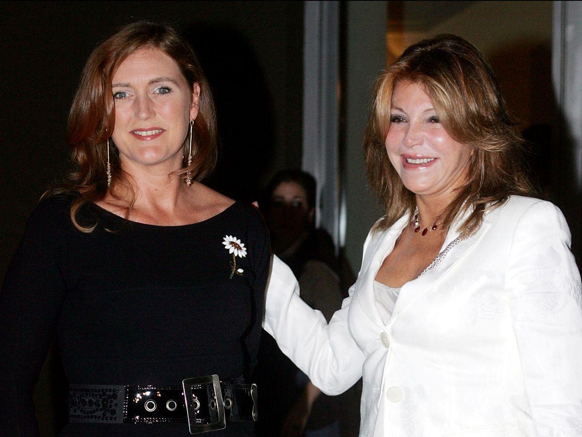 Foto: Tita, junto a Francesca en octubre de 2007. (Gtres)