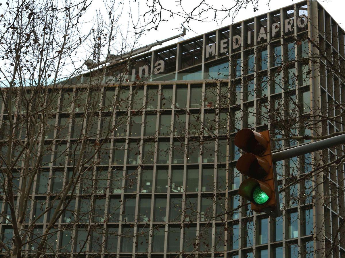 Foto: Edificio corporativo del Grupo Mediapro. (EFE)