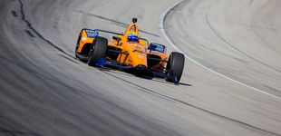 Post de Siga en directo el test de Fernando Alonso en las 500 Millas de Indianápolis