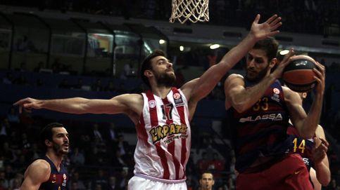 Un Barça resacoso no reacciona ante la defensa y el rebote de Olympiacos